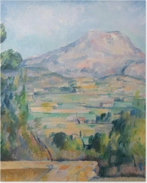 Poster Paul Cézanne - Mont Sainte-Victoire - Reproductions