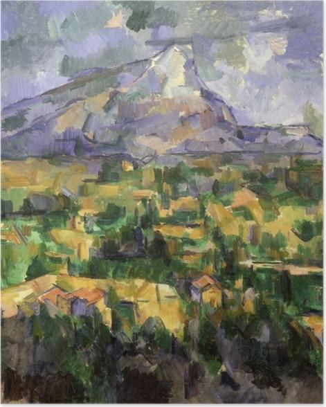 Poster Paul Cézanne - Montagne Sainte-Victoire - Reproductions