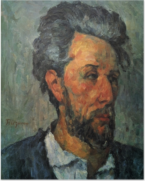 Poster Paul Cézanne - Portrait de Victor Chocquet - Reproductions