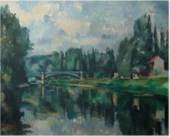 Paul Cézanne - The Banks of the Marne at Creteil Poster
