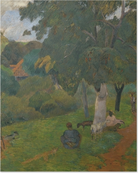 Poster Paul Gauguin - Aller et venir, Martinica - Reproductions