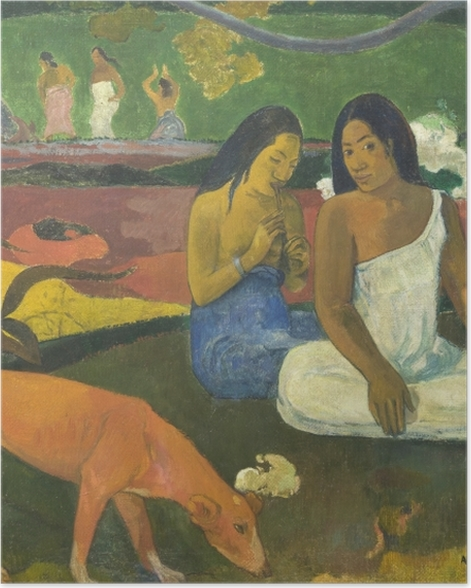 Poster Paul Gauguin - Arearea - Reproductions