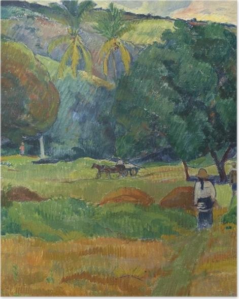 Poster Paul Gauguin - La vallée - Reproductions