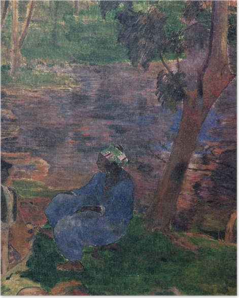 Poster Paul Gauguin - Martinique (Am Teichufer) - Reproductions