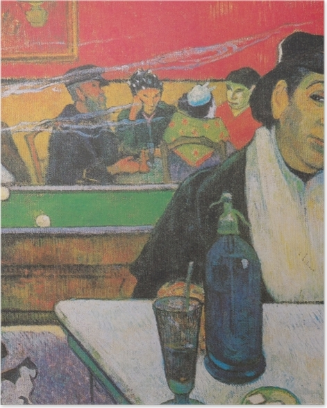 Poster Paul Gauguin - Mme. Ginoux - Reproductions