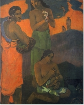 Paul Gauguin - Motherhood Poster
