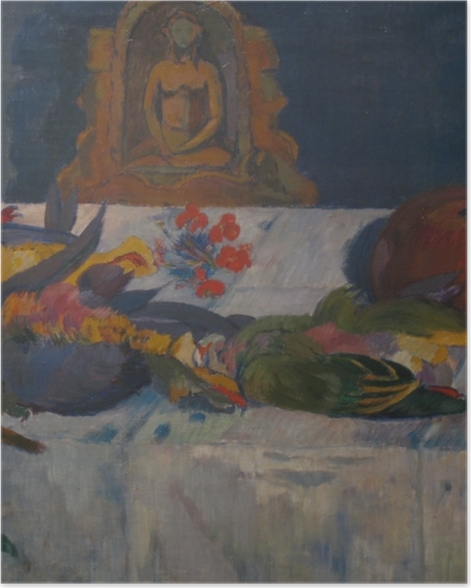 Poster Paul Gauguin - Nature morte avec perroquets - Reproductions