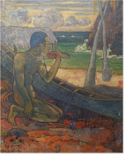 Poster Paul Gauguin - Pauvre pêcheur - Reproductions