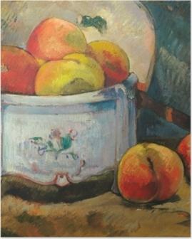 Poster Paul Gauguin - Stilleven met perziken