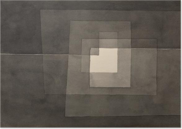 Póster Paul Klee - Dos caminos - Reproducciones