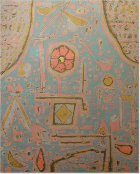 Poster Paul Klee - Efflorescence - Reproductions