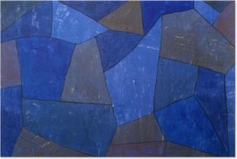 Paul Klee - Rocks at Night Poster