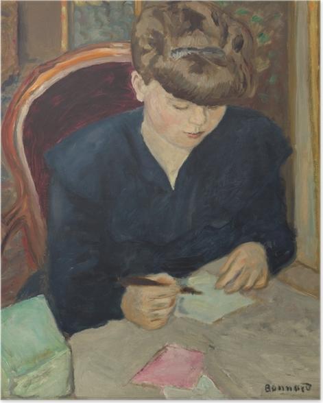 Poster Pierre Bonnard - La lettre - Reproductions