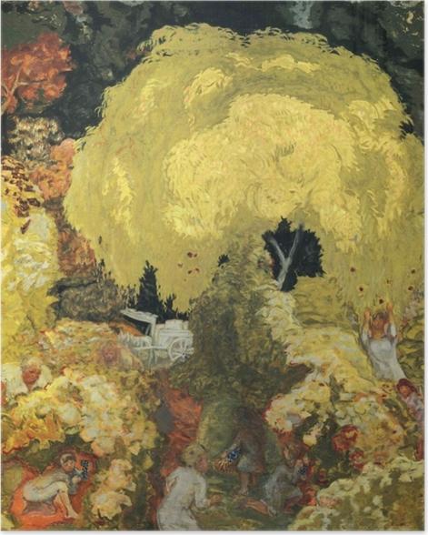 Poster Pierre Bonnard - Les cueilleurs de fruits - Reproductions