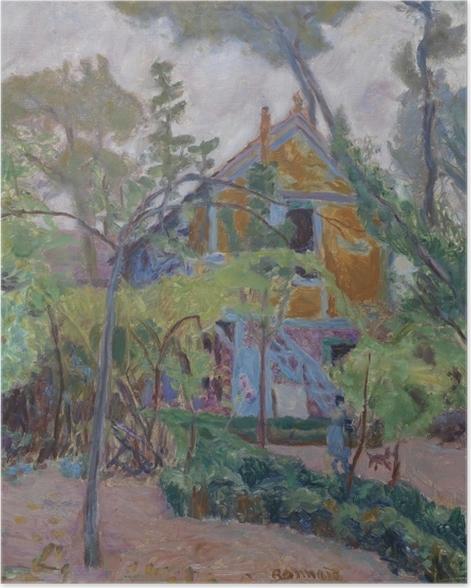 Poster Pierre Bonnard - Maison parmi les arbres - Reproductions