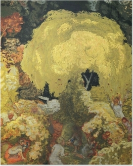 Pierre Bonnard - The Fruit Pickers Poster