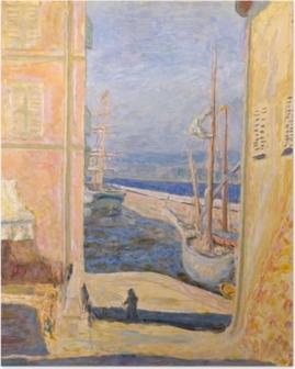 Poster Pierre Bonnard - Vue sur le Vieux Port, Saint-Tropez