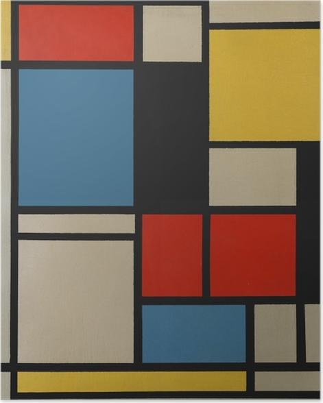 Piet Mondrian - Composition C Poster