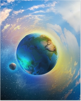 Poster Planeet aarde
