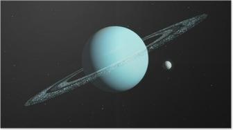 Póster Planet 3D