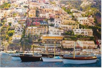Póster Positano, Costa de Amalfi