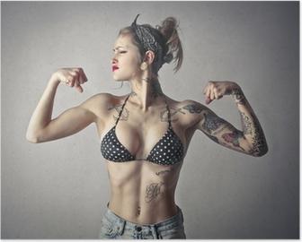 powerful alternative girl Poster