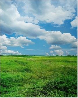 Poster Prachtige natuur landschap