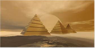 Poster Pyramides