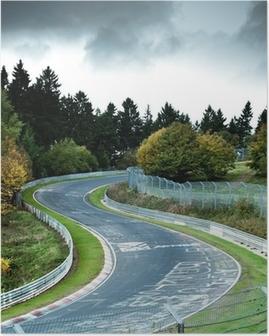 race circuit Poster