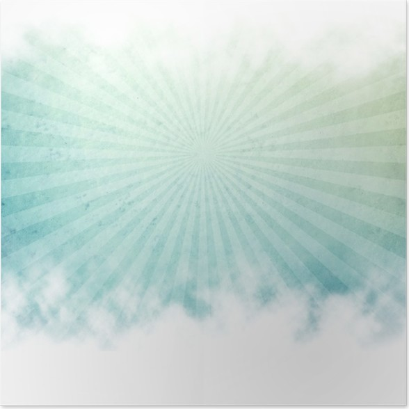 rays pattern background Poster - Art and Creation