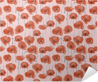 Red poppies - Nina Ho Poster