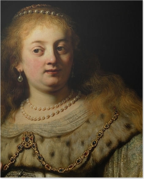 Poster Rembrandt - Artemisia - Reproductions