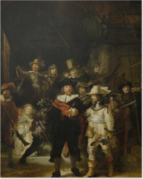 Poster Rembrandt - La Ronde de nuit - Reproductions