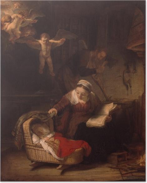 Poster Rembrandt - La Sainte Famille - Reproductions