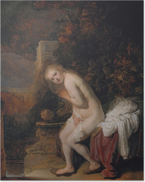 Rembrandt - Susannah and the Elders Poster - Reproductions