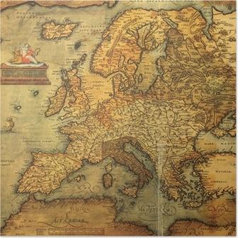 Karta Varlden Europa.Poster Afrika Och Europa Karta En Del Av Gamla Varlden Pixers