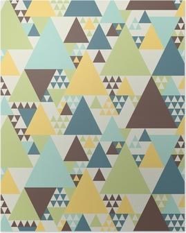 Poster Résumé motif géométrique # 2