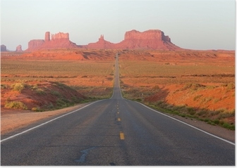 Road To Monument Valley Poster