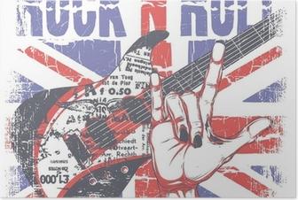 Poster Rock-n-roll