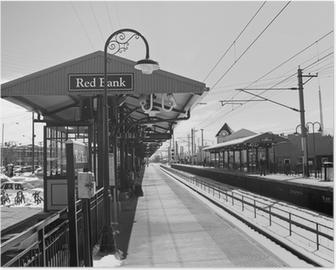 Poster Rode bank station