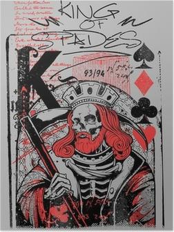 Poster Roi de pique