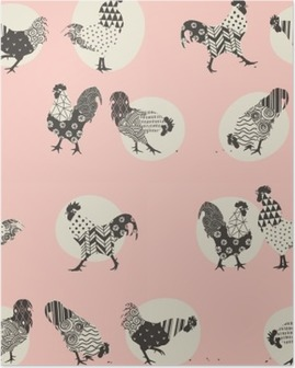 roosters Poster