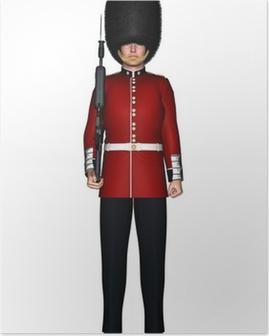 Royal British Guardsman Poster