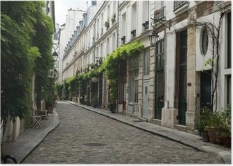ruelle parisienne Poster