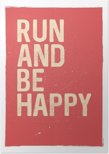 Unusual Gym Poster Design Marathon Inspiration Running Typographic Concept Inspiring And Motivating Quote Inspirational Quotes