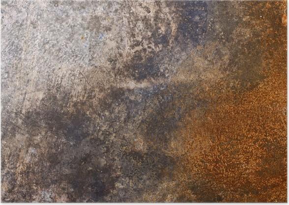 rusty metal texture poster pixers we live to change