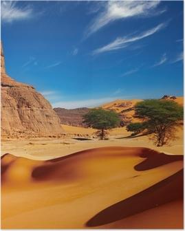 Sahara Desert, Algeria Poster