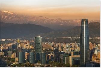 Poster Santiago de Chile