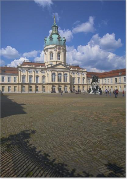 Poster Schloss Charlottenburg, Berlin, Allemagne - Vacances