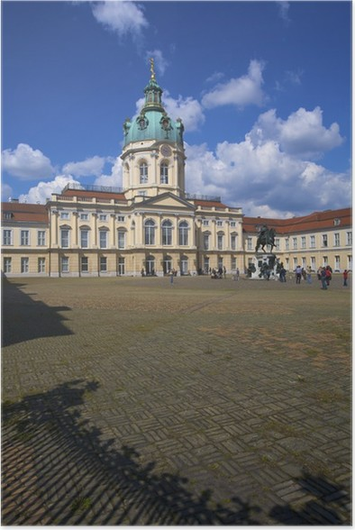 Schloss Charlottenburg, Berlin, germany Poster - Holidays